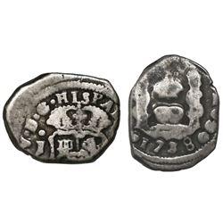 Guatemala, cob 1 real, 1738J, ex-Richard Stuart.