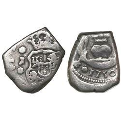 Guatemala, cob 1 real, 1750J, ex-Richard Stuart.
