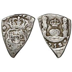Guatemala, cob 1 real, 1752J, ex-Richard Stuart.