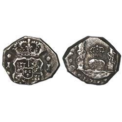 Guatemala, cob 1 real, 1753J, ex-Richard Stuart.