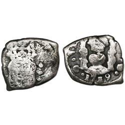 Guatemala, cob 1/2 real, 1739(J), ex-Richard Stuart.