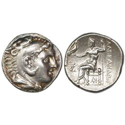 "Kings of Macedon, AR tetradrachm, Alexander III (""the Great""), 336-323 BC."