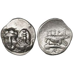 Thrace, Istros, AR drachm, 4th century BC.