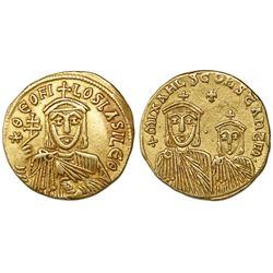Byzantine Empire, AV solidus, Theophilus, 829-842 AD, Constantinople mint.