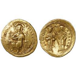 Byzantine Empire, AV histamenon nomisma, Romanus III, 1028-34 AD.