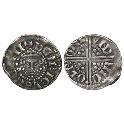 """London, England, """"long cross"""" penny, Henry III (1216-72)."""