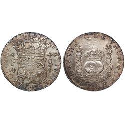 Guatemala, pillar 8 reales, Charles III, 1769P, ex-Richard Stuart.