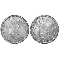 Guatemala, bust 8 reales, Ferdinand VII, 1816M, ex-Richard Stuart.