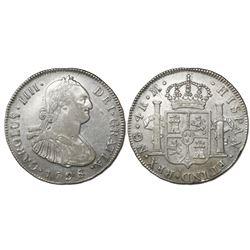 Guatemala, bust 4 reales, Charles IV, 1798M, ex-Richard Stuart.