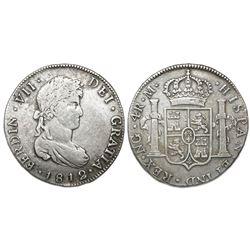 Guatemala, bust 4 reales, Ferdinand VII, 1812M, ex-Richard Stuart.