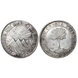 Guatemala (Central American Republic), 8 reales, 1824M.