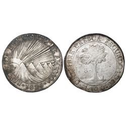 Guatemala (Central American Republic), 8 reales, 1826M.