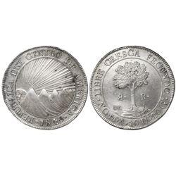 Guatemala (Central American Republic), 8 reales, 1840M.