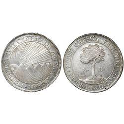 Guatemala (Central American Republic), 8 reales, 1842M.