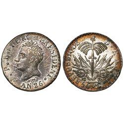 Haiti, 50 centimes, AN 26 (1829), Boyer.