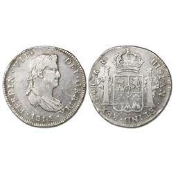 Guadalajara, Mexico, 4 reales, Ferdinand VII, 1815MR.