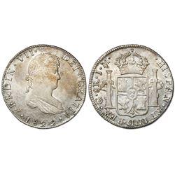 Guanajuato, Mexico, 8 reales, Ferdinand VII, 1822JM.