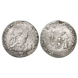 Zacatecas, Mexico, 1 real, Ferdinand VII, 1812.