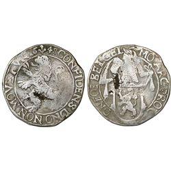 "Gelderland, United Netherlands, ""lion"" daalder (48 stuivers), 1648."