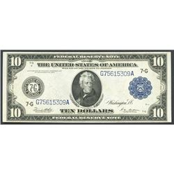 USA (Washington, D.C.), 10 dollars, series 1914.