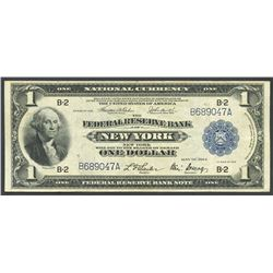 USA (New York, NY), 1 dollar, series 1918.