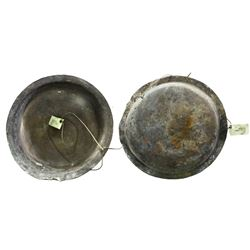 Copper bowl from the Atocha 1622, nearly intact, with original tag but certificate missing.