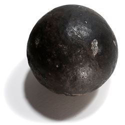 Large bronze cannonball (rare) from the Consolacion (1681).