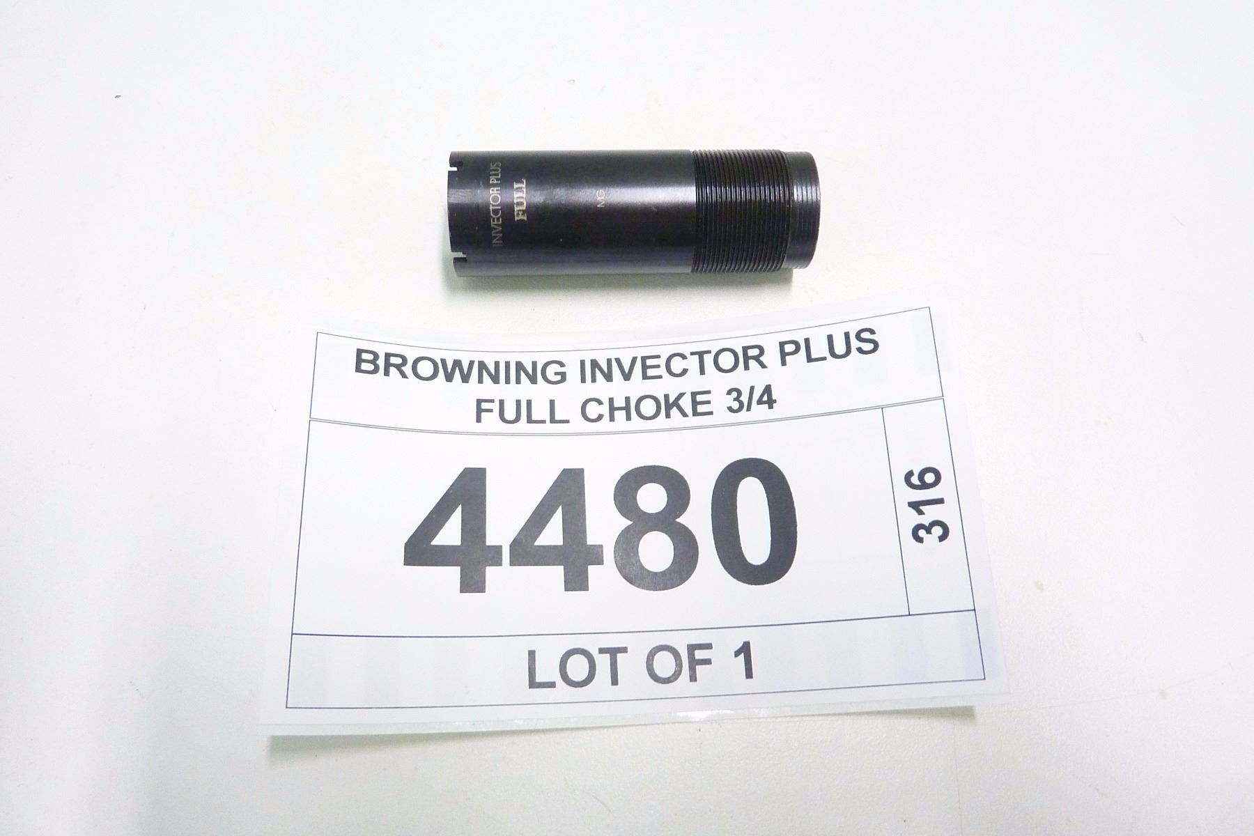 BROWNING INVECTOR PLUS FULL CHOKE 3/4