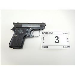 BERETTA    , MODEL: 950B , CALIBER: 6.35MM