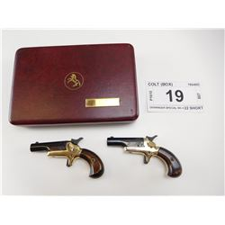 BOXED SET OF COLT PISTOLS , MODEL: DERRINGER SPECIAL NO 4 , CALIBER: 22 SHORT