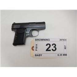 BROWNING , MODEL: BABY , CALIBER: 6.35 MM