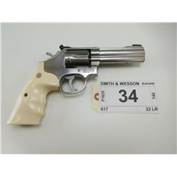 SMITH & WESSON , MODEL: 617 , CALIBER: 22 LR