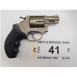SMITH & WESSON , MODEL: AIR WEIGHT M37 , CALIBER: 38 SPL