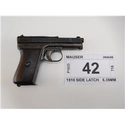 "MAUSER , ""CORRECTION"" MODEL: 1914 , CALIBER: 6.35MM"