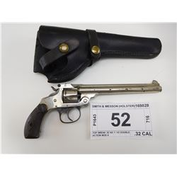 SMITH & WESSON , MODEL: TOP BREAK 32 NO 1 1/2 DOUBLE ACTION MOD 4 , CALIBER: .32 CAL