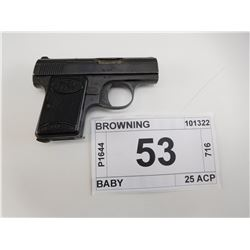 BROWNING , MODEL: BABY , CALIBER: 25 ACP