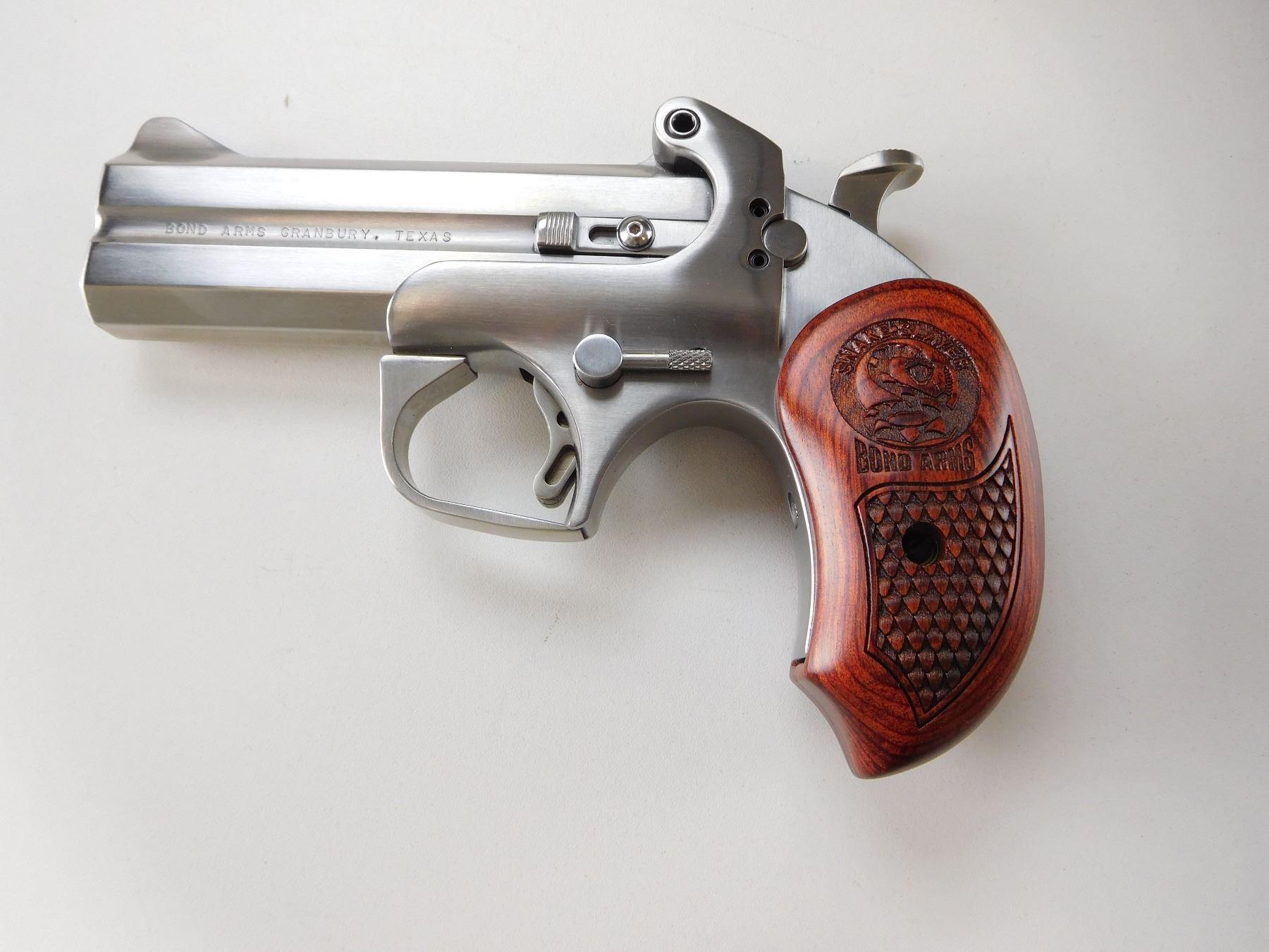 BOND ARMS , MODEL: SNAKE SLAYER IV , CALIBER: 45 LC / 410 GA X 3