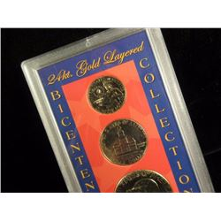 24kt Gold Plated Coin Set