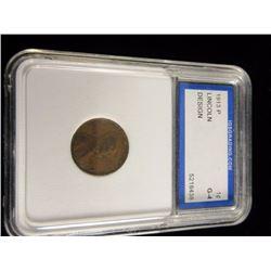 1913 P Penny