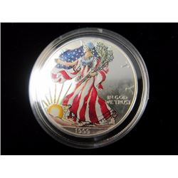 1999 Colorized 1oz Silver Coin