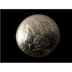 1884 O Silver Morgan Dollar