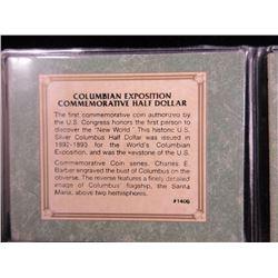 1800's Columbian Expo Silver Coin