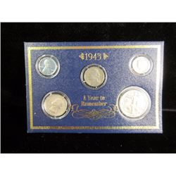 1943 Silver Coins to Remember