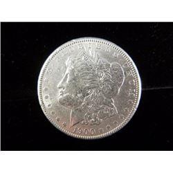Silver Morgan Dollar 1900