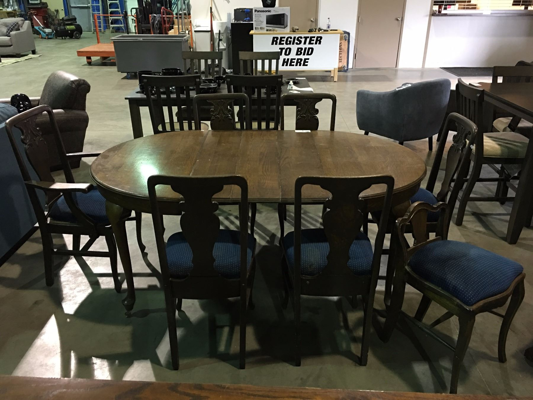Dining Room Table With 3 Leaves 2