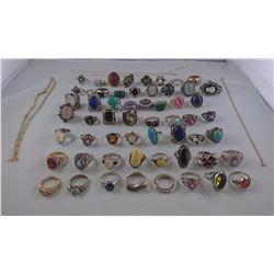 MISC JEWELRY (56 ITEMS) REPLACEMENT VALUE $4345