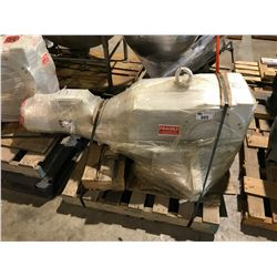 LARGE INDUSTRIAL MOTOR AND GEAR BOX ASSEMBLY