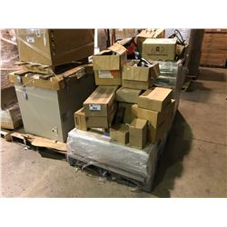 PALLET OF ACCESS PANELS AND LIGHTING