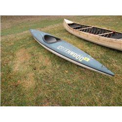 1981 Old Town 12' kayak SN#-7730ZM-Reg number