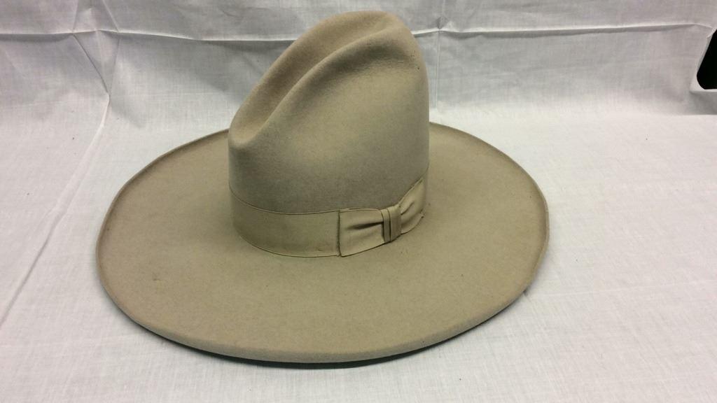 d315271d8fd37 Stetson 4x Beaver Cowboy Hat Size 7